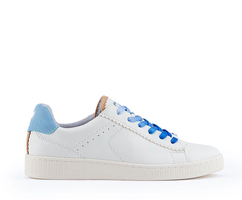 ADA Vegan Sneakers | White Pastel Blue