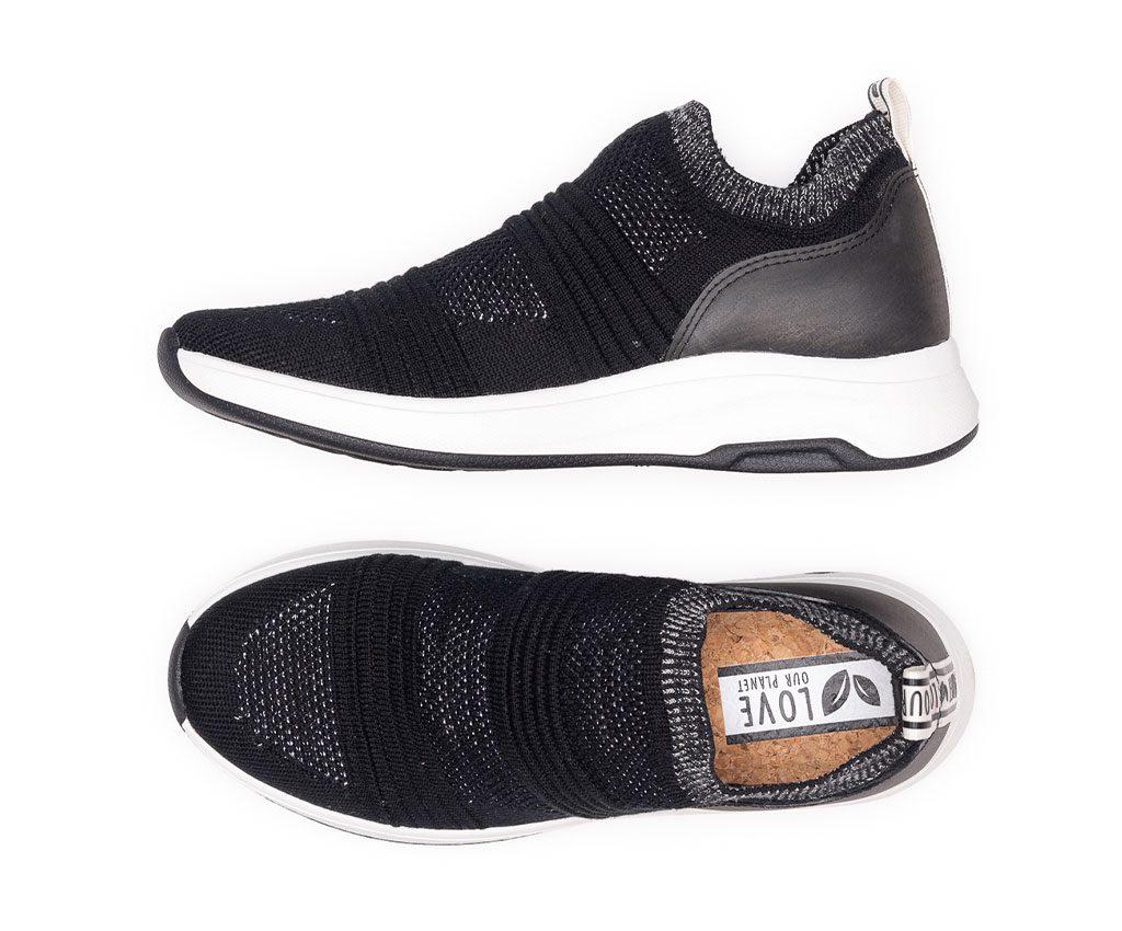 ATENA Vegan Sneakers | Black