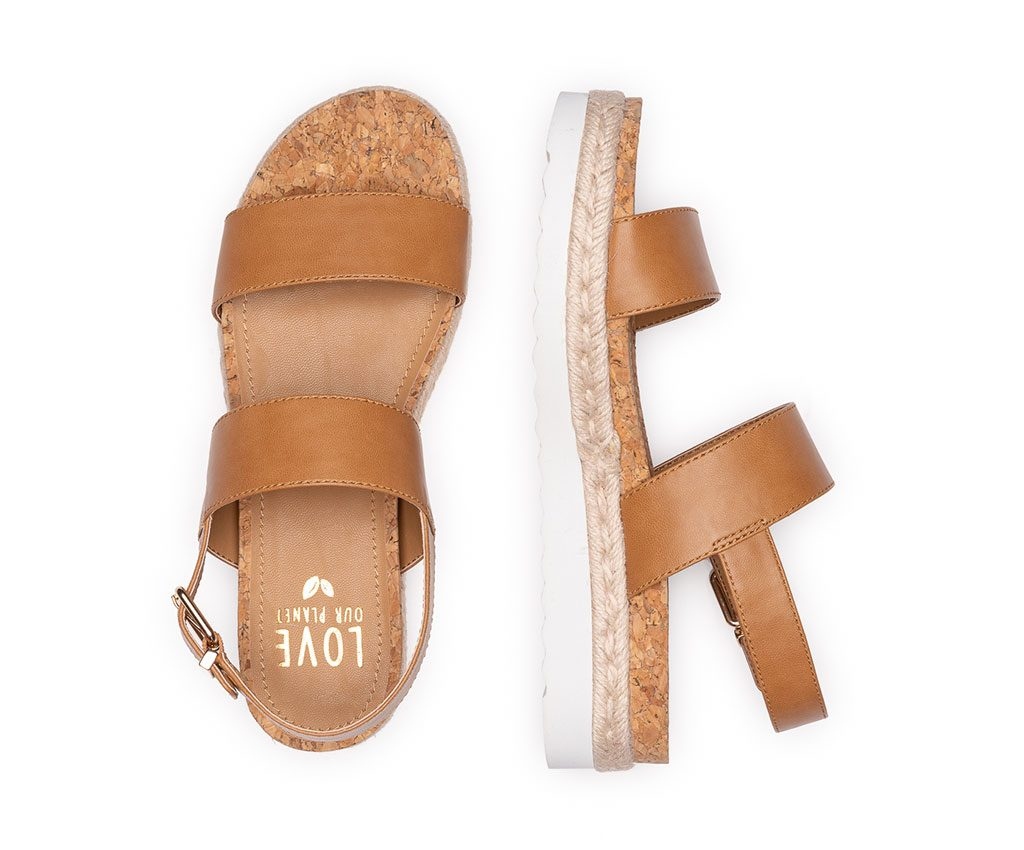 DIANA Vegan Sandals | Tan