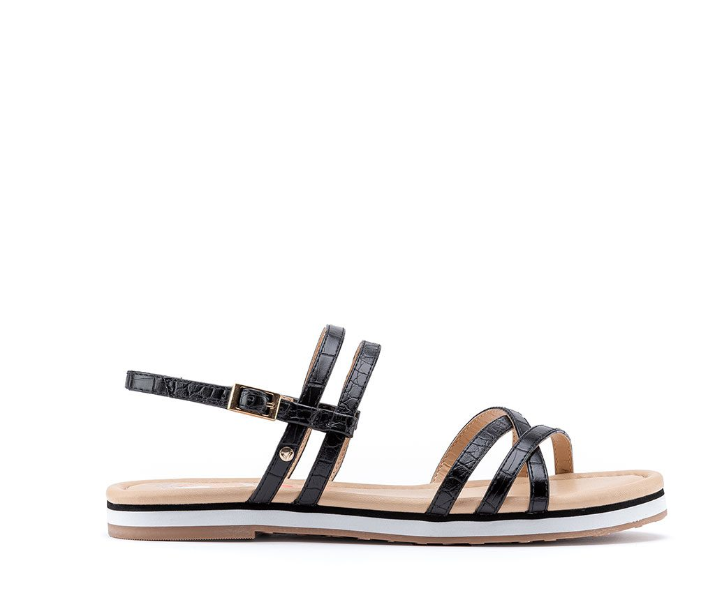 FRIDA Vegan Sandals | Black