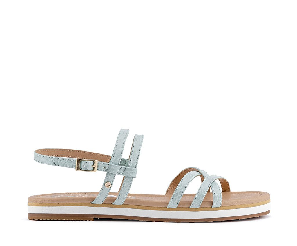 FRIDA Vegan Sandals | Pastel Green