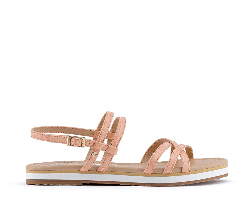 FRIDA Vegan Sandals | Salmon