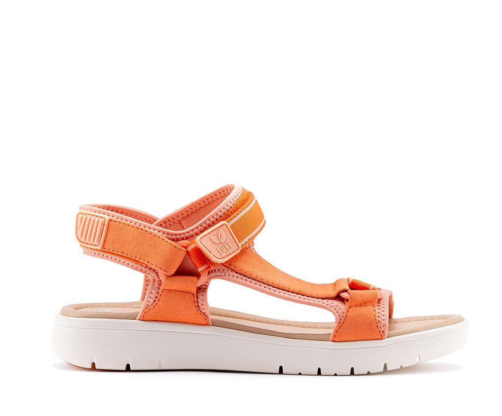KRIS Vegan Sandals   Coral