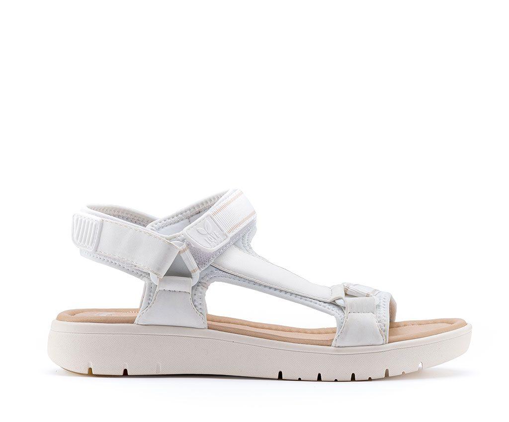 KRIS Vegan Sandals   White