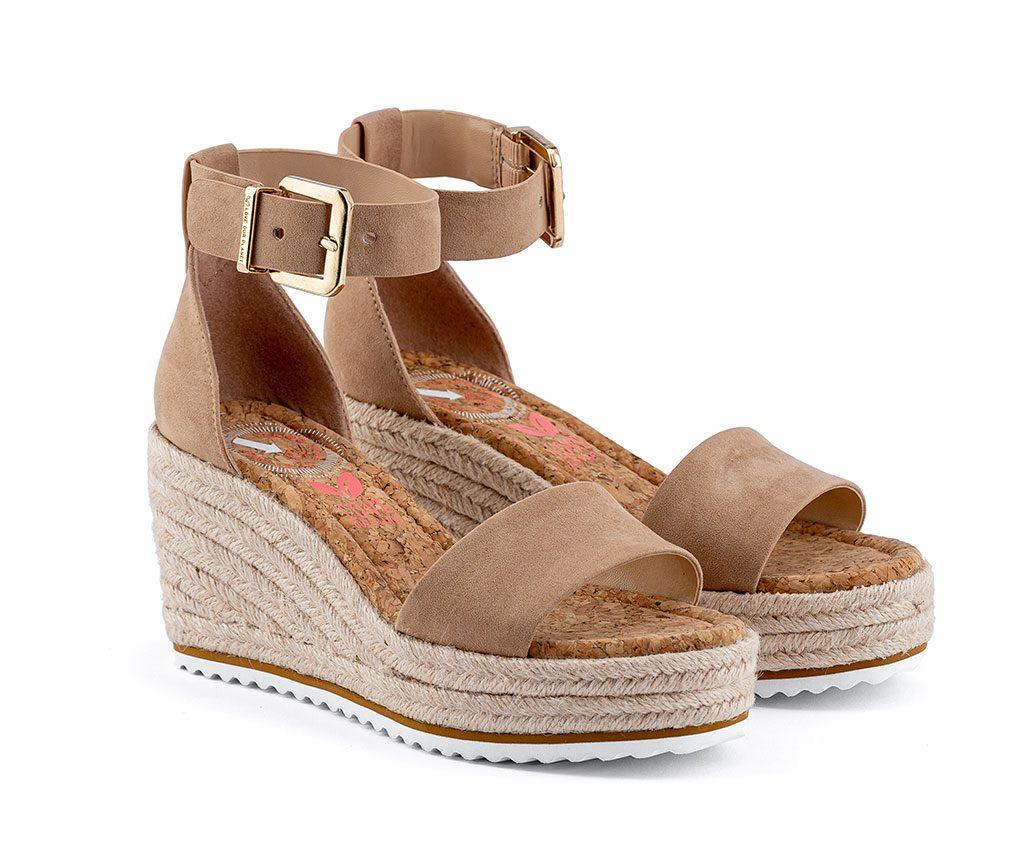 MARGARET Vegan Sandals | Biscuit