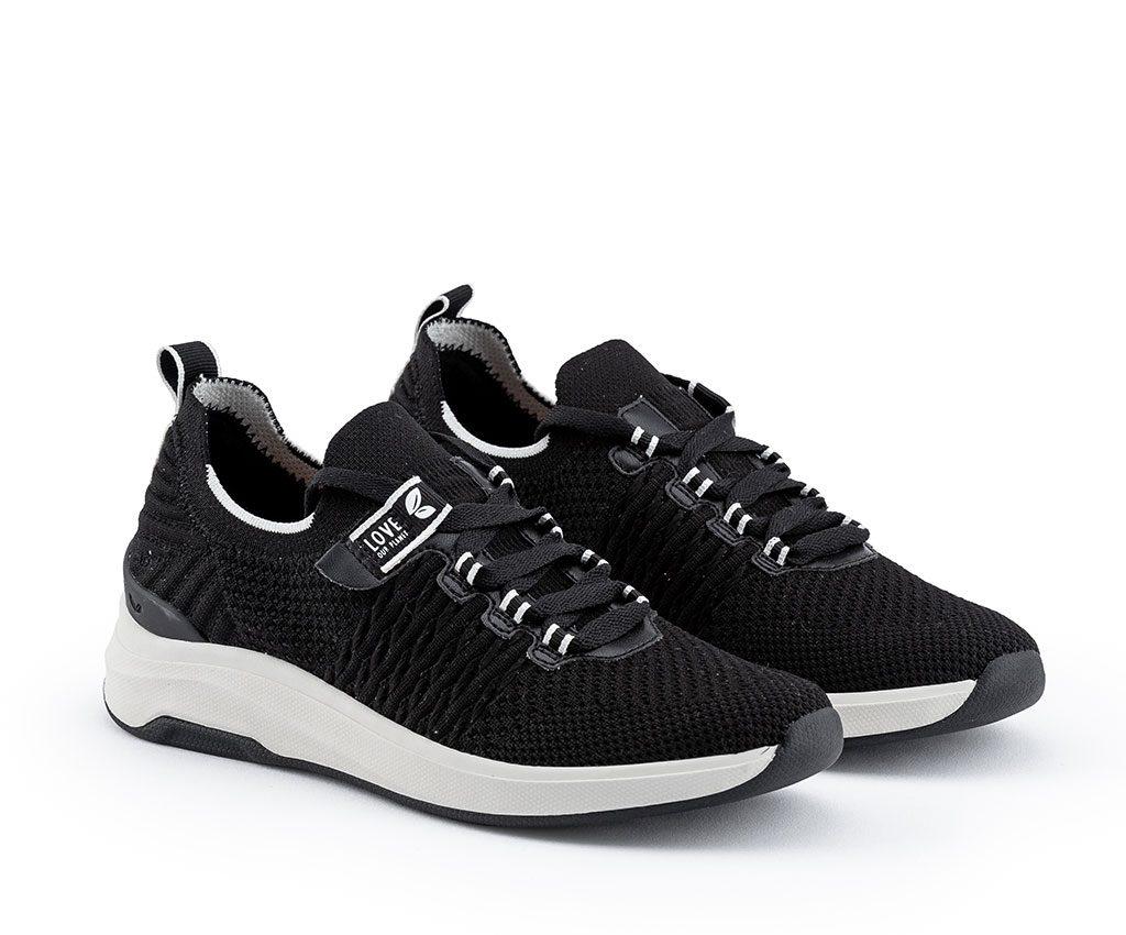 WANGARI Vegan Sneakers | Black