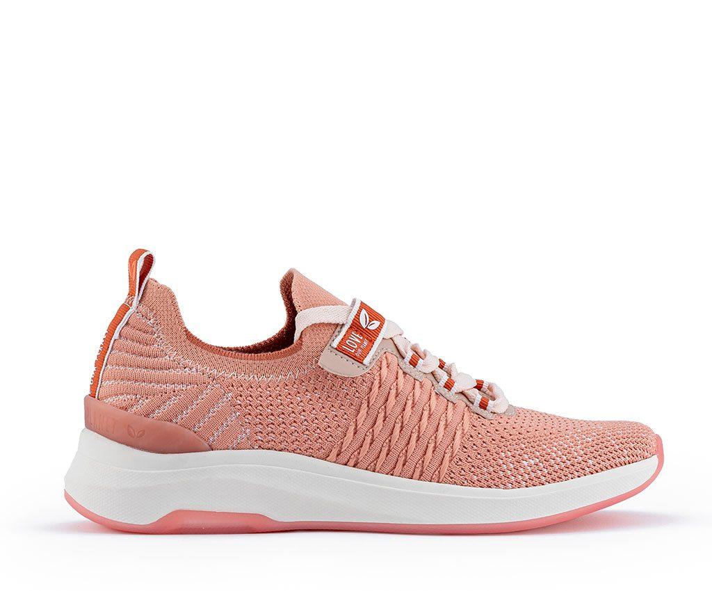 WANGARI Vegan Sneakers | Salmon